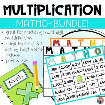 Multi-Digit Multiplication Game Bundle!