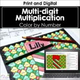 Multi-Digit Multiplication (Holiday Theme)
