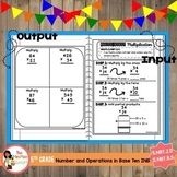 Multi-Digit Multiplication Interactive Notebook (5.NBT.2.5