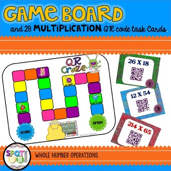 Multi-Digit Multiplication & Long Division QR CRAZE BUNDLE
