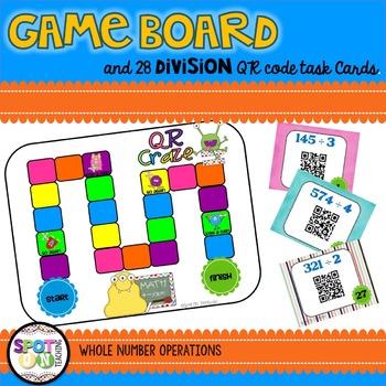 Multi-Digit Multiplication & Long Division QR CRAZE BUNDLE