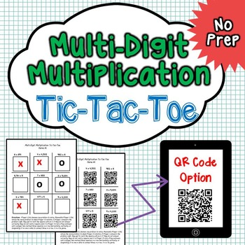 Multi-Digit Multiplication Math Center