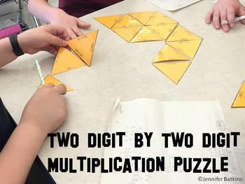 Multi Digit Multiplication Math Center Bundle