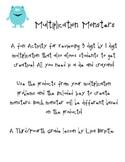 Multi Digit Multiplication Monster Glyph