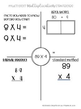 Multi Digit Multiplication Packet