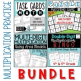 Multi-Digit Multiplication Practice Bundle