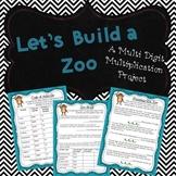 Zoo Multi-Digit Multiplication Project