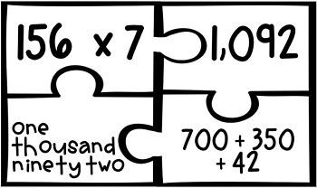 Multi Digit Multiplication Puzzle