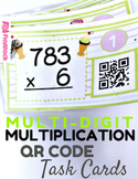 Multi-Digit Multiplication QR Code Fun