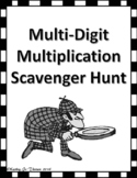 Multi-Digit Multiplication Scavenger Hunt
