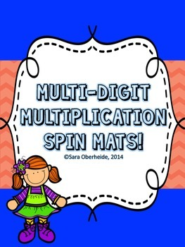 Multi-Digit Multiplication Spin Mats