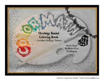 Multi-Digit Multiplication Strategies Coloring Book