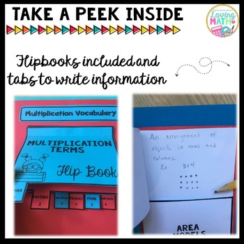 Multi-Digit Multiplication Strategies Lapbook