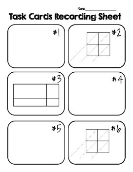 Multi-Digit Multiplication Strategies Task Cards