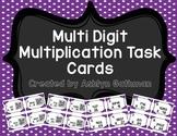 Multi Digit Multiplication Task Cards
