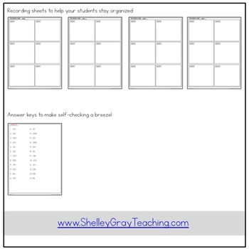Multi-Digit Multiplication Task Cards: 2-digit by 2-digit ( & strategy posters)