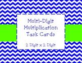 Multi-Digit Multiplication Task Cards (2 digit x 2 digit)