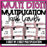 Multi Digit Multiplication Task Cards - 3 Digit by 2 Digit