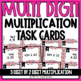 Multi Digit Multiplication Task Cards - 3 Digit by 2 Digit