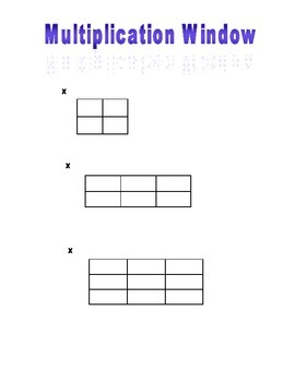 Multi-Digit Multiplication Window