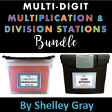 Multi-Digit Multiplication and Division Stations: BUNDLE
