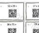 Multi-Digit Multiplication with QR Codes