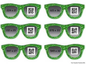 Multiplication QR Code {multi-digit}