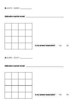 Multi-Digit Subtraction Practice