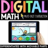 Multi-Digit Subtraction Practice - Digital - Interactive M