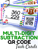 Multi-Digit Subtraction QR Code Fun