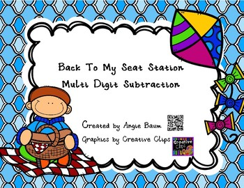 Multi Digit Subtraction Back To My Seat Station