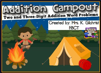 Multi - Digit Addition Word Problems Promethean ActivInspi