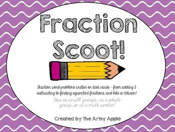 Multi-Fraction + Decimal Skills: SCOOT!