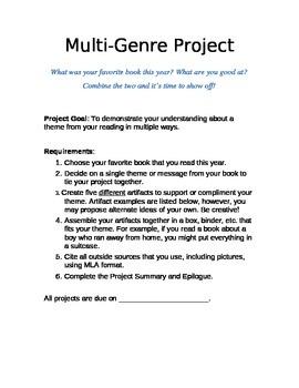 Multi-Genre Project Guide