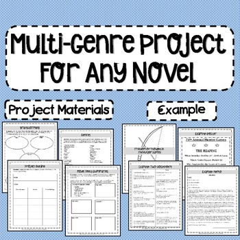 Multi-Genre Project for Any Novel