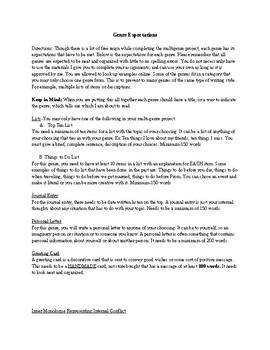Multi-Genre Unit ELA- Genre Expectations