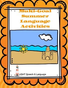 Multi-Goal Summer Language Activities