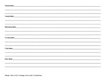 Multi-Goal Tracking Sheet