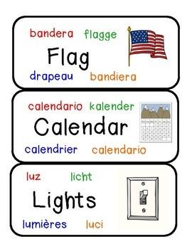 Multi Language Labels