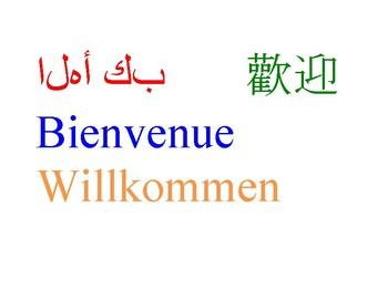 Multi-Language Welcome