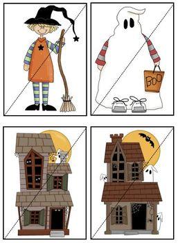 Multi-Level Learning Resource Halloween Theme Bundle