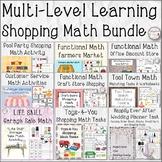 Multi-Level Learning Shopping Math Bundle