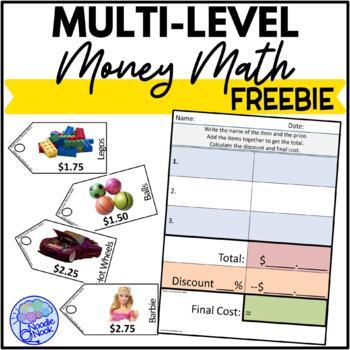 Multi-Level Money Math for LIFE Skills-FREE