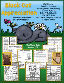 Multi-Level Passages for Black Cat Appreciation Day