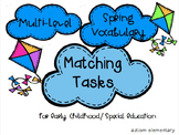 Multi-Level Spring Vocabulary Matching Tasks
