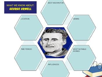 Multi-Leveled: GEORGE ORWELL Constructed Response Practice & Word Work RI 8.1