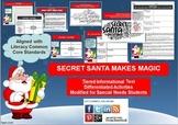 Multi-Leveled: Santa Claus Constructed Response Practice RI 6.1