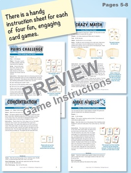 Commutative Property for Addition: 40 Math Matching Game Cards 1A21