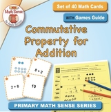 Commutative Property for Addition: 40 Math Matching Game C