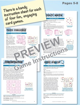 Time in Hours and Half-Hours: 40 Math Matching Game Cards 1M23